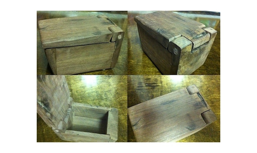 Wooden box made for Amy