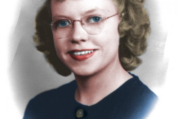 Arlene Miller Colorized
