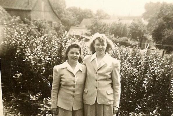 Arlene and Sister Flo